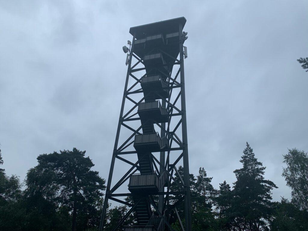 Queertal Wandern Feuerwachturm Hohe Mark Steig
