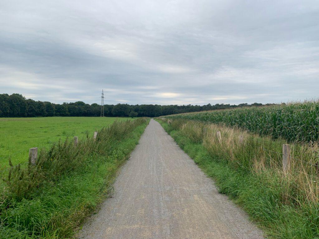 Queertal Wandern Nähe Lippe, Halterner Stausee