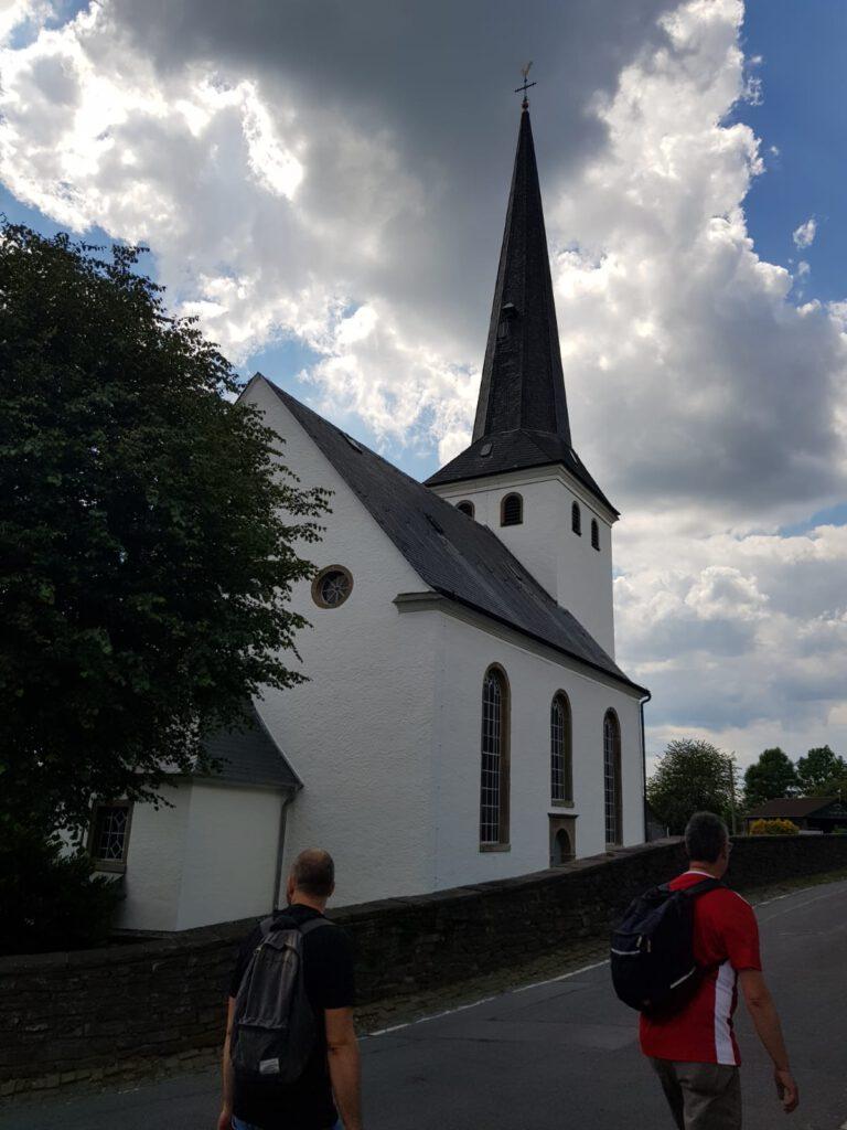 Kirche Bergisches Land 2020 bei einer unserer Wanderungen